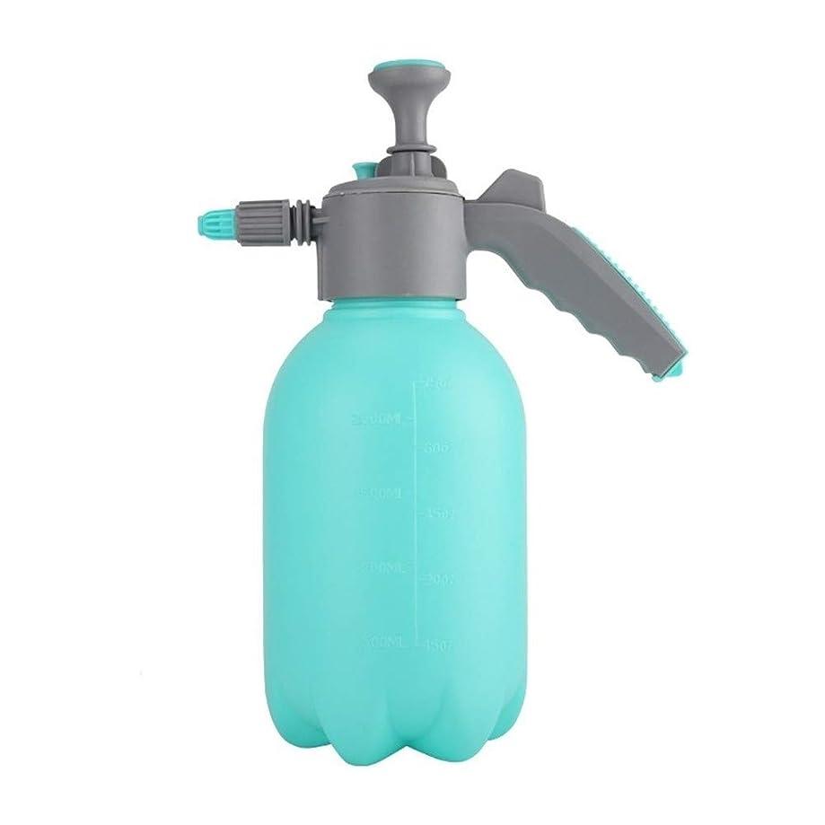 大使シマウマ接辞庭用じょうろ プラスチック製の花瓶、空気圧スプレーボトルを注ぎます (Color : Blue)