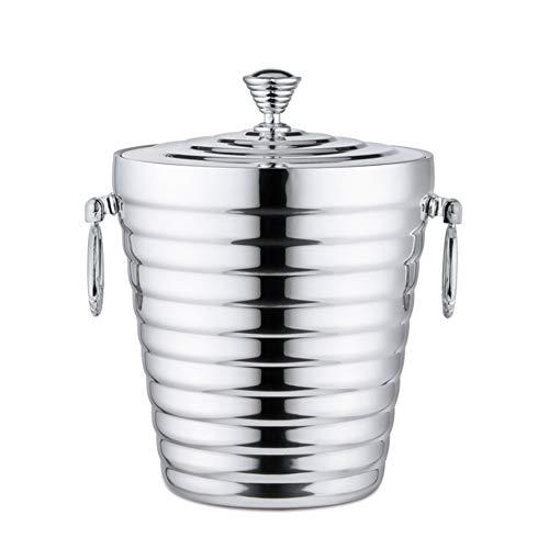 Ice Bucket Bar Ktv Champagne Bucket Barril De Vino Aislante Cubo De Hielo, Ligero Y Elegante Soporte Para Cubos Para Catering Fiestas Eventos Hoteles Bares Restaurantes Inicio