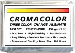 Color Changing Dental Alginate 5 lbs Fruit Flavor Fast Set Dust Free