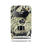 scosao Cámara de Caza Fototrampeo 12MP 1080P, Camara Caza LED Invisible 850nm IR Leds 50 ft Visión Nocturna y Gran Angular de 120°, Impermeable Camara vigilancia Caza con Sensor Movimiento 0.2s