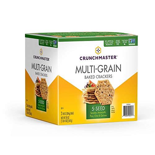 Crunchmaster 5 Seed Multigrain Cracker (10 oz., 2 ct.)