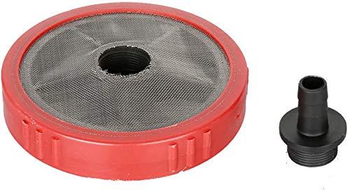 T&F - Tubo di aspirazione per tubi dell'acqua in ABS, filtro di ingresso per idropulitrice ad alta pressione