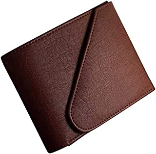 Blissburry Touch Men's Leather Wallet Colour Brown