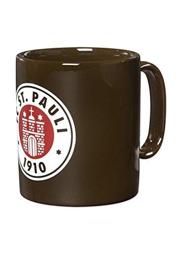 FC St. Pauli Logo Tasse Kaffeebecher Mug (braun, one Size)