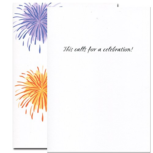 Congratulations Cards: Light Up the Sky - box of 10 cards & env Made in USA by CroninCards Photo #2