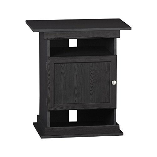 Ameriwood Home Flipper 10/20 Gallon Aquarium Stand, Black Oak