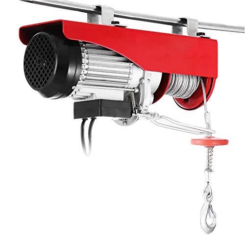Mini polipasto eléctrico de cable de acero, 20 m Decoración Grúa de...