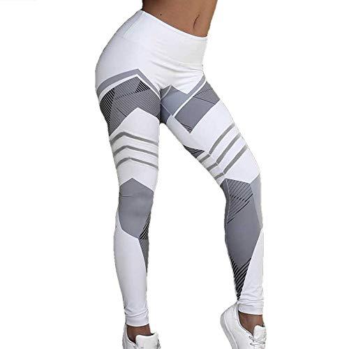 XYHJ Pantalones de Yoga Leggings Deporte Mujer Fitness Legging Slim Stretch Running Tights Mujeres Leggins
