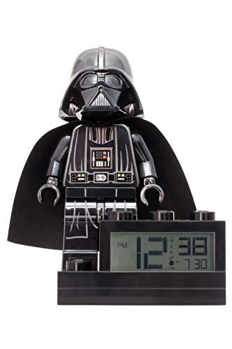 LEGO Réveil pour Enfant Noir 15,2 cm