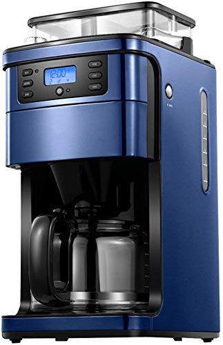 Cafetera, completamente automática Máquina de café Wi-Fi de control remoto de alta capacidad Tres velocidad de ajuste de 1,5 litros temporizador anti-goteo Sistema reutilizable Filtro Permanente jsmhh