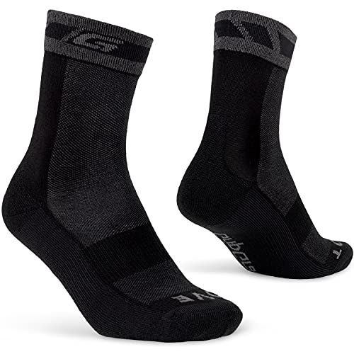 GripGrab Winter Thermal Cushioned Cycling Socks with Merino-Wool