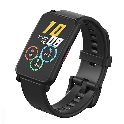 Leeofty Correa de Reloj de 20 mm con Hebilla de Silicona para Hombres y Mujeres, reemplazo para Honor Watch ES, Correa de Reloj