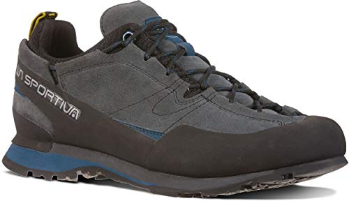 La Sportiva Boulder X Approach Shoe, Carbon/Opal, 44