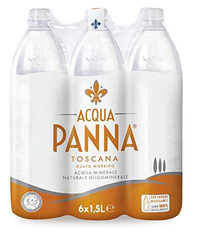 Acqua Panna Toscana Acqua Minerale Oligominerale - 6 x 1.5 L