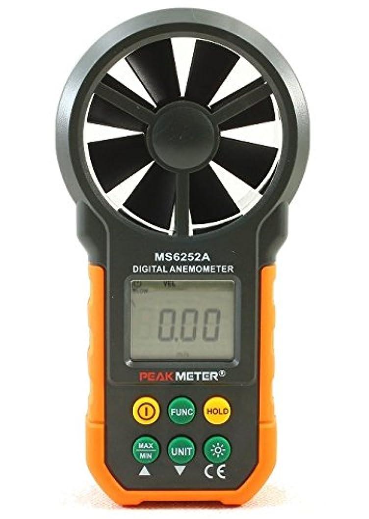 後記述する取得するPEAKMETER MS6252A デジタル風速計