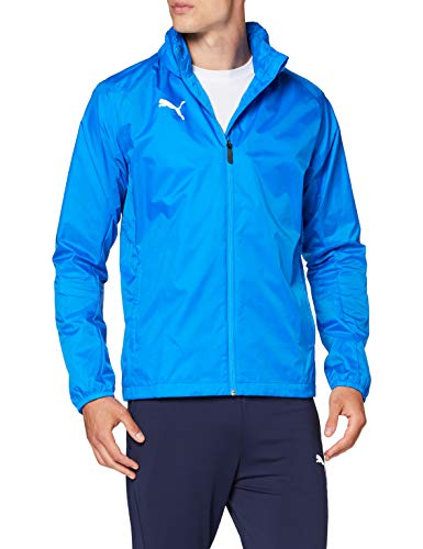 PUMA Herren Liga Training Rain Jacket Core, Electric Blue Lemonade White, L
