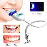 Blanqueamiento Dental Luz Fría LED Azul Dispositivo Blanqueador de Dientes Sosteniendo la Lámpara de Mesa Dental Blanqueo Sistema para Uso de la Oficina en Casa