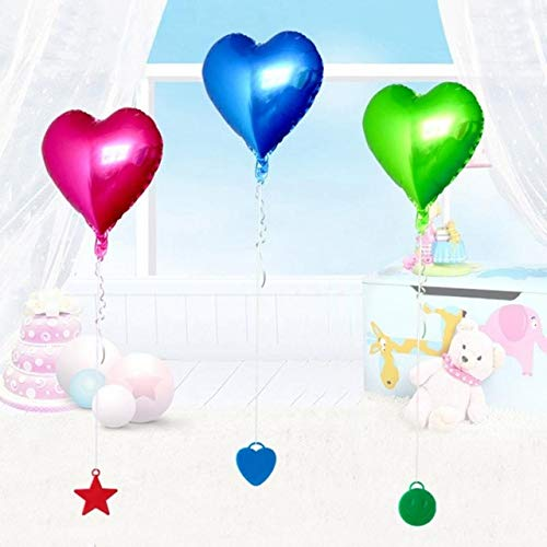 Utini 10pcs Balloon Hanging Accessory Birthday Star Balloon Load-Bearing Pendant Wedding Party Homecoming Decorative Ornaments #0601