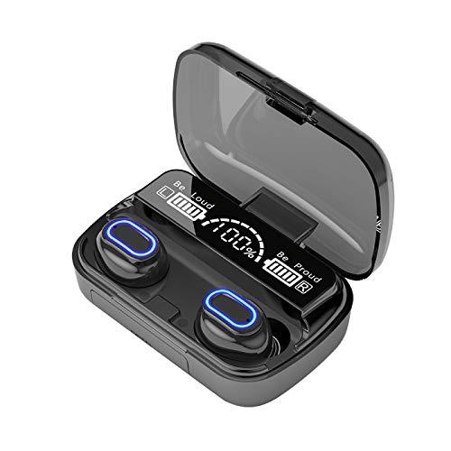 WishHome Trådlösa Öronbud Bluetooth 5.1 Hörlurar Touch Control Stereo Hörlurar Med Laddning Fall Ipx7 Vattentät Buller Annullerande Öronbud För Android IOS