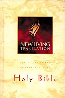 Holy Bible, New Living Translation Deluxe Text Edition