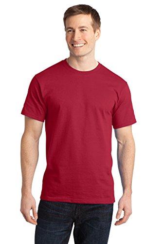 sportoli hombre comodidad suave algodón cuello redondo manga corta Tagless largo camiseta
