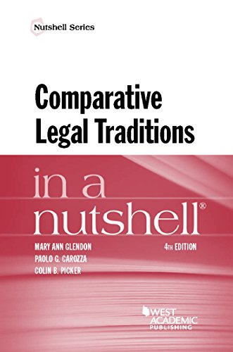 Comparative Legal Traditions in a Nutshell (English Edition)