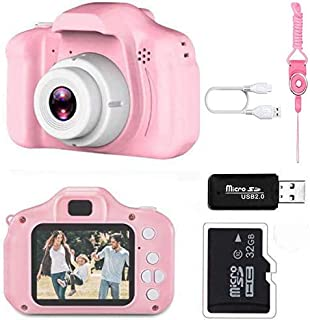 Sponsored Ad - Nynicorny Kids Camera, Children Digital Rechargeable Cameras Toddler Educational Toys, Mini Children Video ...