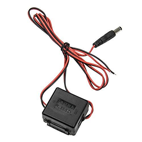 Estabilizador de tensión 12V DC rectificador del Filtro del Condensador de la retransmisión del Poder para la cámara del Rearview del revés del Coche