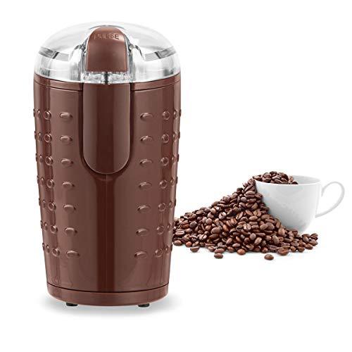 COSTWAY Elektrische Kaffeemühle, Universalmühle 70g Fassungsvermögen, Kaffee Mühle Edelstahl 150W (Kaffee)