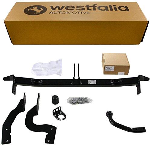 Westfalia Starre Anhängerkupplung - AHK für Citroen C4 Picasso (inkl Grand Picasso) (BJ 11/2006 - 01/2011) im Set mit 13-poligem fahrzeugspezifischen Westfalia Elektrosatz
