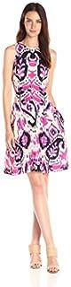 فستان دونا مورجان بتصميم مطبوع للنساء