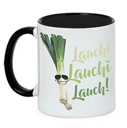 Siviwonder Tasse LAUCH LAUCHI LAUCHI LAUCH Fun lustige Spruch Kaffeebecher