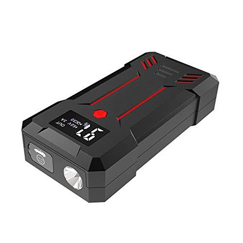 WCLOC Arrancador para Coche, Arrancador PortáTil para Coche 1200a Pico 15000 Mah con Carga RáPida De USB, Refuerzo De BateríA De Coche De 12 V, Cargador De BateríA