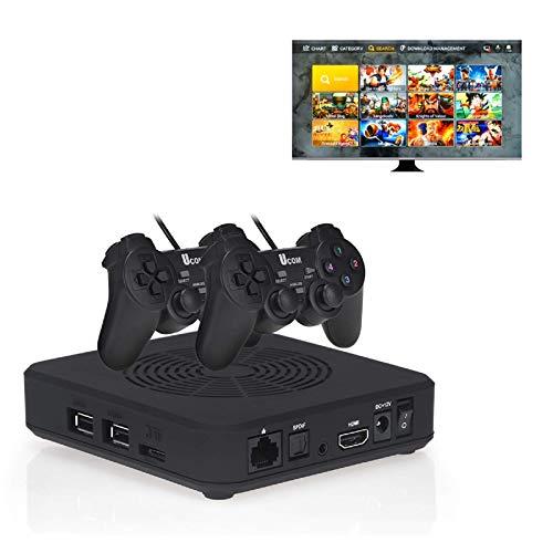 TAPDRA 3D Pandora Saga WiFi TV Game Box 3000 in 1 Console Arcade Multi Giochi con 2 Gamepad USB, Supporto 10000+ Giochi Download