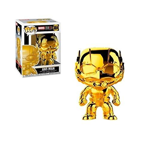 Marvel Ant-Man - Boneco Pop Funko Homem Formiga Cromado #384