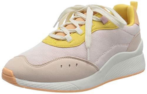 VERO MODA VMNINO Sneaker, Zapatillas Mujer, Rosa Sepia, 37 EU