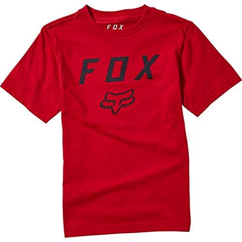Fox Racing Kids' Big Boys' Youth Legacy Moth SS TEE, Chili, X-Large