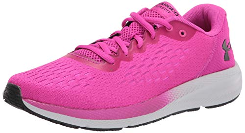Under Armour womens Charged Pursuit 2 Special Edition Running Shoe, Meteor Pink (500 Halo Gray, 9.5 US