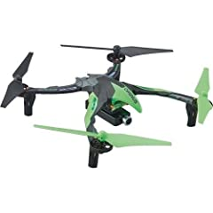 The Ominus FPV comes ready to fly out of the box. Perform flips, take video, and snap photos with the press of a button. Four flight modes to help any pilot take flight. Choose between easy, normal, advanced and expert flight modes. See your flight t...