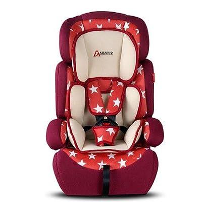 MVDWWH Seguro y cómodo Asiento de Seguridad para bebés, Asiento de Seguridad para bebé, Asiento de Seguridad para bebé, 9 Meses, 12 años Una Cuna cómoda para el bebé. (Color : Multi-Colored)