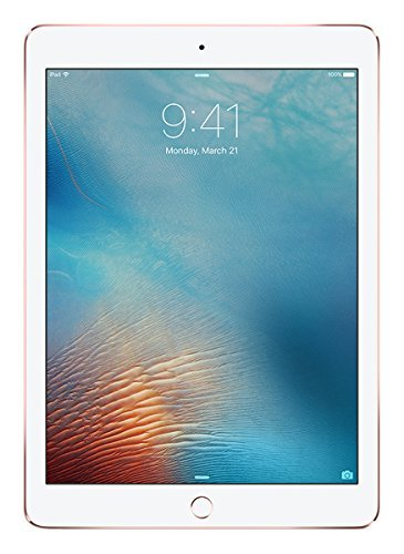 Apple iPad Pro 32GB Rosa - Tablet (Tableta de tamaño Completo, IEEE 802.11ac, iOS, Pizarra, iOS, Rosa) (Reacondicionado)