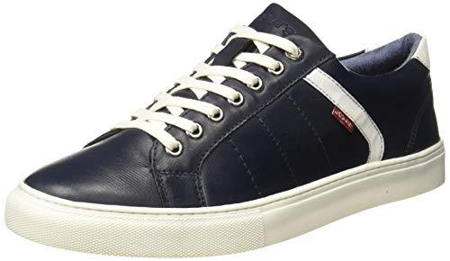 Levi's Men Indi Exclusive Navy Blue Sneakers-9 UK (43 EU) (10 US) (38099-1631)