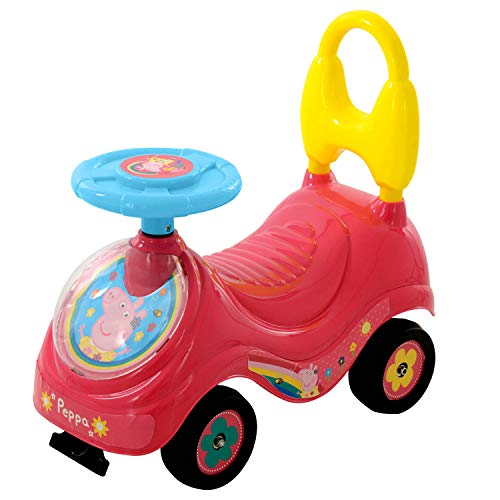 Peppa Pig M07215 First Sit and Ride, roze