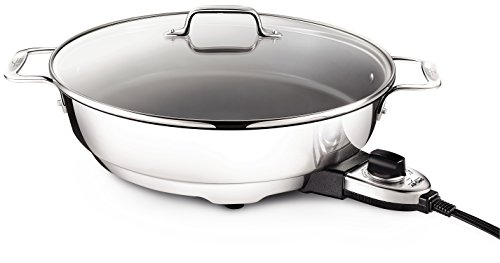 All-Clad SK492 Electric Skillet with Adjustable Temperature...