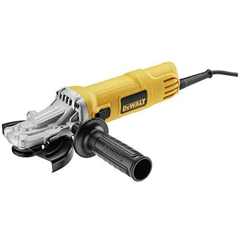 Dewalt DWE4157F-QS Amoladora angular (900 W), Negro y amarillo