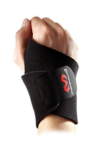 McDavid Herren Hand-Bandage 451 Handbandage, Black, one Size