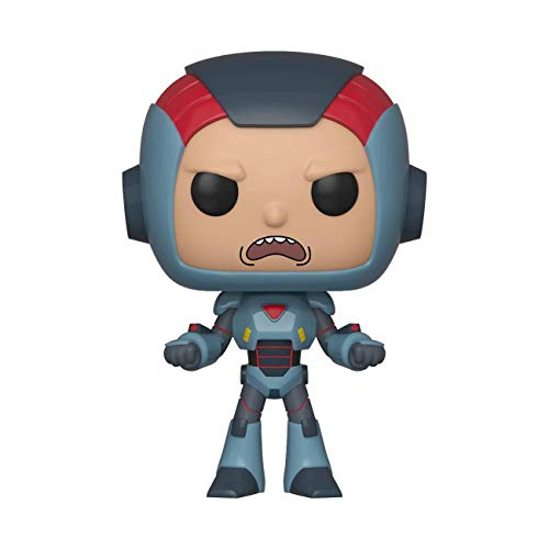 Pop! Figura de Vinilo: Animación: Rick & Morty S6 - Morty in Mech Suit