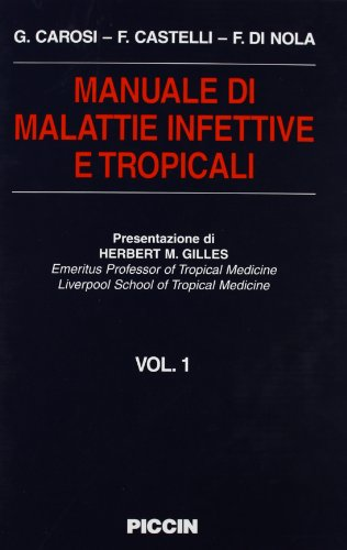 Malattie Infettive Tropicali( 2 Voll.) [Copertina flessibile] by Carosi