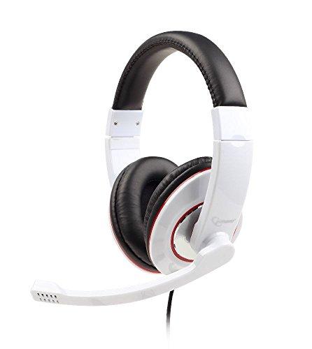Gembird MHS-001-GW Stereo Headset glänzend weiß