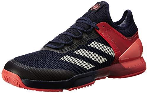 adidas Adizero Ubersonic 2 Clay, Scarpe da Tennis Uomo, Arancione (Maosno/Tincru/Esctra 000), 48 2/3 EU